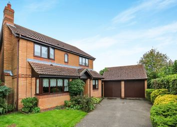 Thumbnail 4 bed detached house for sale in Worcester Way, Attleborough