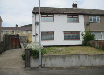 Thumbnail 3 bed semi-detached house for sale in Heol Tewcoed, Cwmavon, Port Talbot, Neath Port Talbot.
