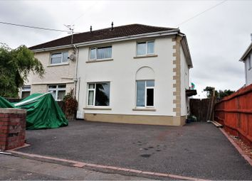 Thumbnail 3 bedroom semi-detached house for sale in Brynawel Road, Swansea