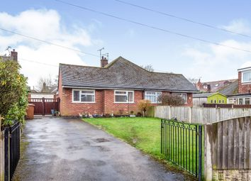 Thumbnail 2 bed semi-detached bungalow for sale in Hawthornden Avenue, Uttoxeter