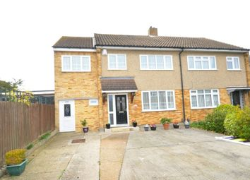 Thumbnail 4 bedroom semi-detached house for sale in Brian Close, Moulsham Lodge, Chelmsford, Essex