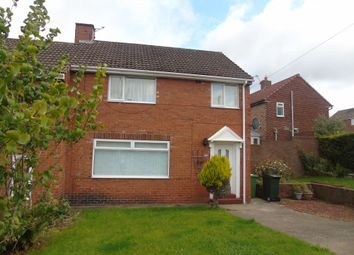 Thumbnail 3 bedroom semi-detached house for sale in Milton Road, Whickham, Newcastle Upon Tyne