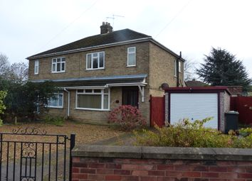 Thumbnail 3 bed semi-detached house for sale in Oakdale Avenue, Peterborough