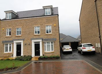 Thumbnail 4 bed semi-detached house for sale in Newton Close, Lightcliffe, Halifax