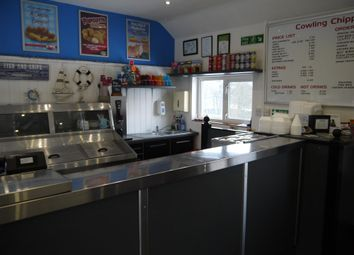 Thumbnail Leisure/hospitality for sale in Fish & Chips BD22, Cowling, North Yorkshire