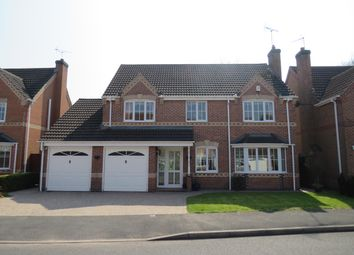 Thumbnail 5 bed detached house to rent in Whistlestop Close, Mickleover, Derby