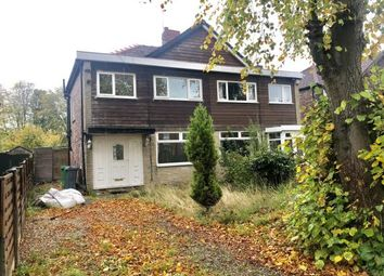 Thumbnail 3 bed semi-detached house for sale in Boothroyden Road, Blackley, Manchester, Greater Manchester