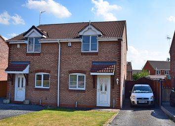 Thumbnail 2 bed semi-detached house for sale in Rimini Close, Meir Hay, Stoke-On-Trent