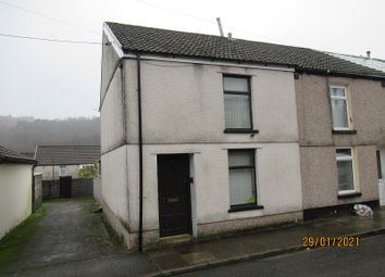Thumbnail 2 bed end terrace house for sale in Club Row, Ystrad, Rhondda Cynon Taff.