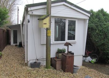 Thumbnail 1 bed mobile/park home for sale in Haygrove Park (5852), Trull, Taunton, Somerset, 7Ld