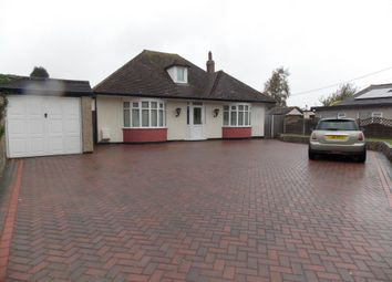 Thumbnail 3 bed detached bungalow to rent in Ash Road, Hartley, Longfield