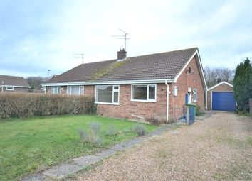 Thumbnail 2 bed semi-detached bungalow to rent in Bracken Way, Grimston, King's Lynn