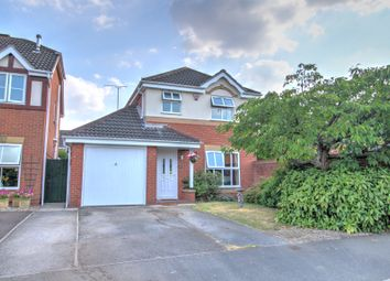 Thumbnail 3 bed detached house for sale in Windmill Close, Boulton Moor, Derby