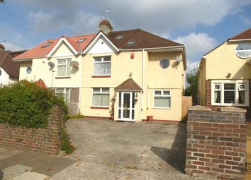 Thumbnail 4 bed semi-detached house for sale in Pwllmelin Road, Fairwater, Cardiff