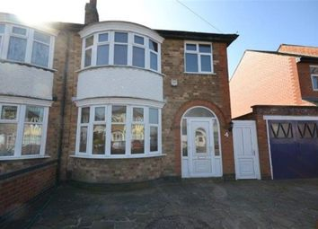 Thumbnail 3 bed semi-detached house to rent in Cairnsford Road, West Knighton, Leicester