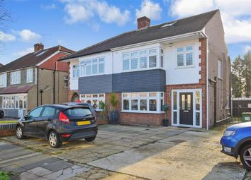 Thumbnail 4 bed semi-detached house for sale in Beauly Way, Romford, Essex