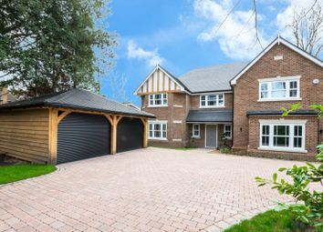 Thumbnail 5 bed detached house for sale in St. Johns Hill Road, St. Johns, Woking