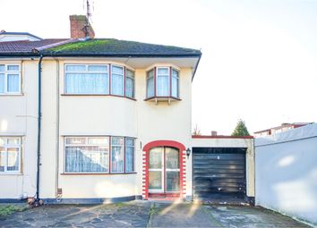 Thumbnail 3 bed semi-detached house for sale in Clydesdale Avenue, Stanmore, Middlesex
