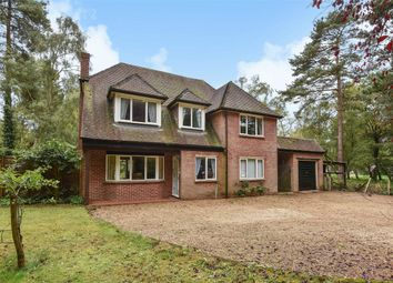 Thumbnail 4 bed detached house for sale in Old Wokingham Road, Crowthorne, Berkshire
