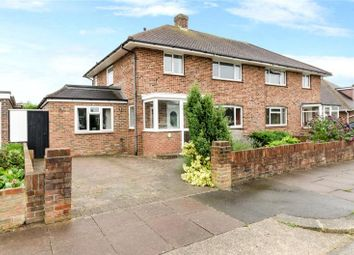 Thumbnail 4 bed semi-detached house for sale in Patricia Avenue, Goring By Sea, Worthing
