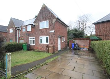 Thumbnail 3 bed semi-detached house to rent in Orton Road, Manchester