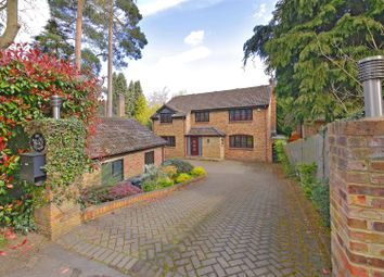 Thumbnail 5 bed detached house for sale in The Warren, Radlett