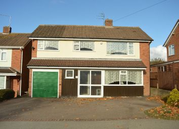 Thumbnail 4 bed detached house for sale in Ash Tree Road, Oadby, Leicester