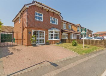 Thumbnail 4 bedroom detached house for sale in Puttney Drive, Kemsley, Sittingbourne