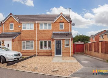 Thumbnail 3 bed semi-detached house for sale in Avery Close, Fearnhead, Warrington