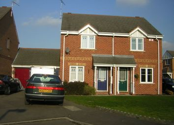 Thumbnail 2 bed town house to rent in Royce Close, Thorpe Astley, Leicester