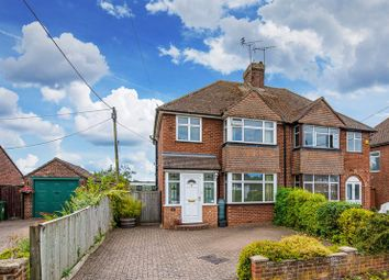 Thumbnail 3 bed semi-detached house for sale in Main Street, Weston Turville, Aylesbury