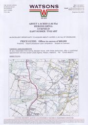 Thumbnail Land for sale in Herons Ghyll, Uckfield
