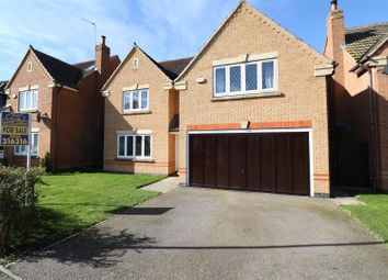 Thumbnail 4 bed detached house for sale in Yarrow Close, Rushden
