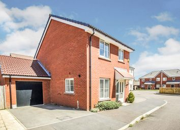 Thumbnail 3 bedroom detached house for sale in Goodhart Crescent, Dunstable
