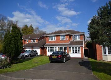 Thumbnail 5 bed detached house for sale in Goldcliff Close, Callands, Warrington