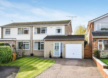 Thumbnail 3 bed semi-detached house for sale in Russell Close, Penn, High Wycombe