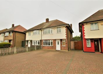 Thumbnail 3 bed semi-detached house for sale in Wensleydale Avenue, Ilford