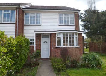 Thumbnail 4 bed end terrace house to rent in Burnside Close, Twickenham