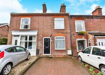 Thumbnail 2 bedroom terraced house for sale in Drayton High Road, Drayton, Norwich