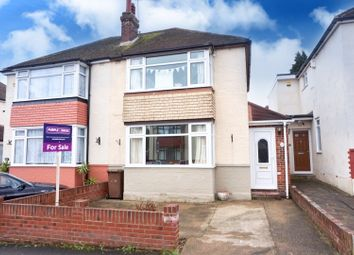 Thumbnail 2 bed semi-detached house for sale in Haig Avenue, Rochester