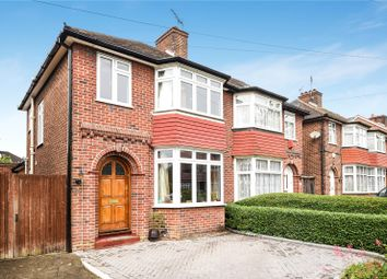 Thumbnail 3 bed semi-detached house for sale in Gyles Park, Stanmore, Middlesex
