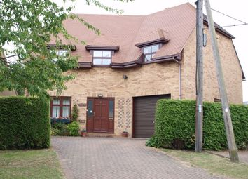 Thumbnail 3 bedroom detached house for sale in Church Road, Catworth, Huntingdon