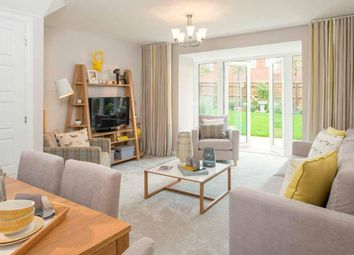 "Thumbnail 3 bed end terrace house for sale in ""Padstow"" at Broughton Crossing, Broughton, Aylesbury"