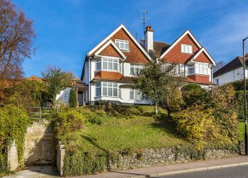 Thumbnail 4 bed semi-detached house for sale in Downs Court Road, Purley