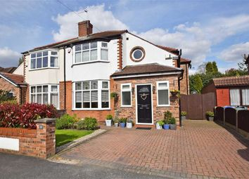 Thumbnail 4 bed semi-detached house for sale in Kingsfield Drive, Didsbury, Manchester