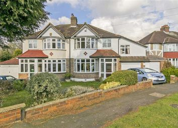 Thumbnail 4 bed semi-detached house for sale in Commonfield Road, Banstead, Surrey