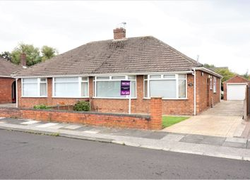 Thumbnail 2 bedroom semi-detached bungalow for sale in Cradley Drive, Middlesbrough