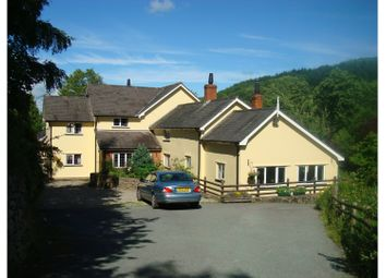 Thumbnail 4 bed detached house for sale in Bachie Road, Llanfyllin