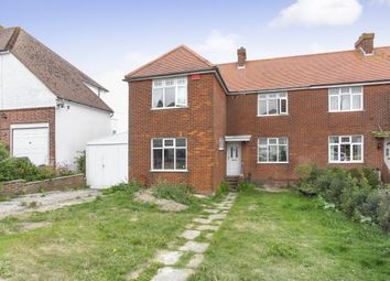 Thumbnail 5 bed semi-detached house for sale in Dover Road, Folkestone