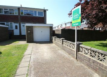 Thumbnail 2 bed end terrace house for sale in Castle Road, Tarring, West Sussex